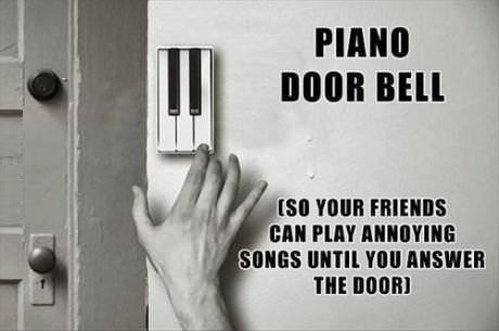Who wins in the end, piano doorbell